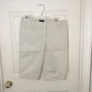 The Limited Khaki Shorts-6